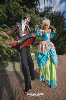 Pasacalles Steampunk Alquimia Circus