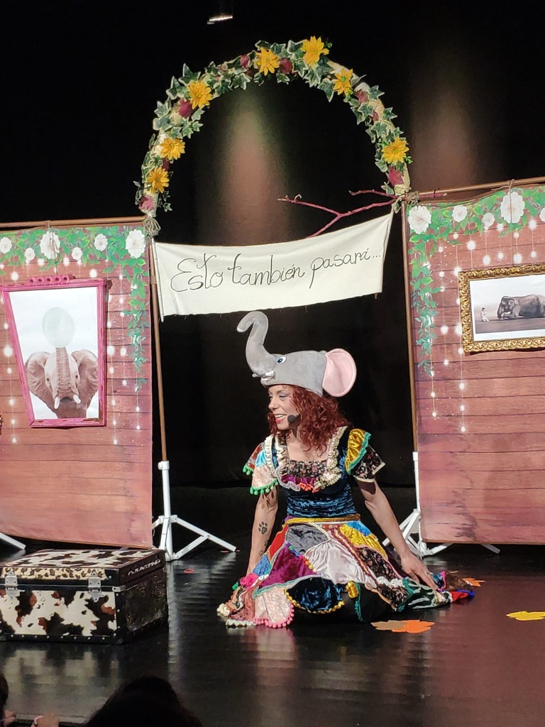 Memorias de un Elefante Alquimia Circus